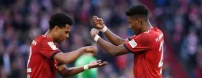 Alaba i Gnabry kucharzami? Zabawna cieszynka piłkarzy Bayernu!
