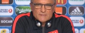 Konferencja prasowa przed meczem z Niemcami