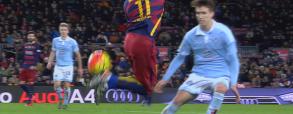 Zobacz trik Neymara w meczu z Celtą Vigo!