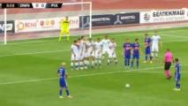 Dynamo Mińsk 0:2 Piast Gliwice [Filmik]