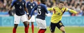 Francja 2:3 Kolumbia