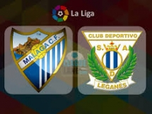 Malaga CF 0:2 Leganes