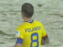 Samobójczy gol Polanskiego w meczu Hoffenheim z Herthą