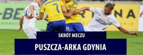 Puszcza Niepołomice 4:0 Arka Gdynia