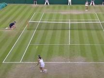 Agnieszka Radwańska 2:1 Madison Keys
