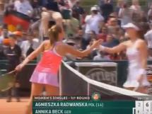 Radwańska odpadła z French Open!