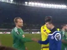 Rapid Wiedeń 2:1 Dynamo Mińsk