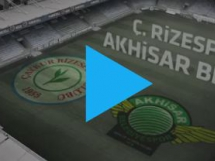 Rizespor 0:2 Akhisar Belediye