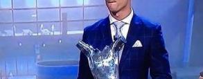 Cristiano najlepszym piłkarzem Europy 2015/2016