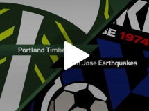 Portland Timbers 2:0 San Jose Earthquakes