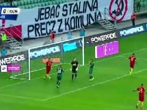 Śląsk Wrocław - Korona Kielce 1:0