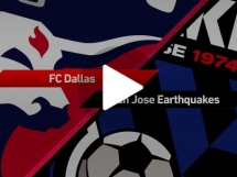 FC Dallas 0:1 San Jose Earthquakes
