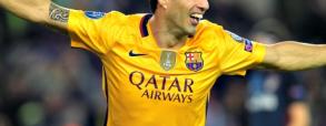 Cztery gole i trzy asysty Suareza w meczu z Deportivo