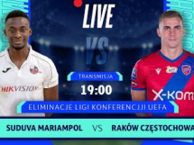 Suduva Mariampol 0:0 Raków Częstochowa