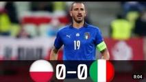 Polska 0:0 Włochy [Filmik]