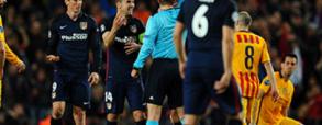 Czerwona kartka Torresa w meczu z Barceloną!