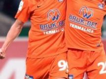Termalica Bruk-Bet Nieciecza - Jagiellonia Białystok 2:0