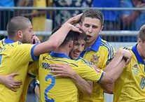 Ukraina 3:0 Luksemburg