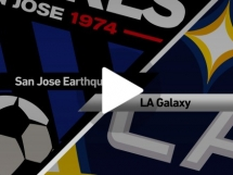 San Jose Earthquakes 2:1 Los Angeles Galaxy