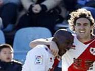 Getafe CF 1:2 Rayo Vallecano