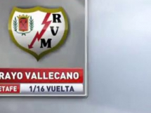 Getafe CF 3:1 Rayo Vallecano