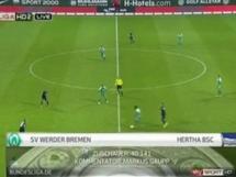 Werder Brema - Hertha Berlin 3:3