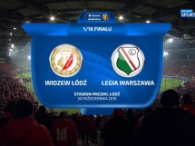 Widzew Łódź 2:3 Legia Warszawa