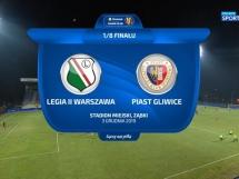 Legia Warszawa II 0:2 Piast Gliwice