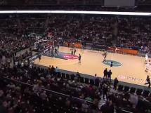 Żalgiris Kowno 75:55 Olympiacos Pireus
