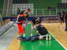 Koszykarz PGE Turowa uratował życie kibicowi!