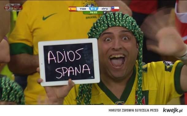 Adios España!