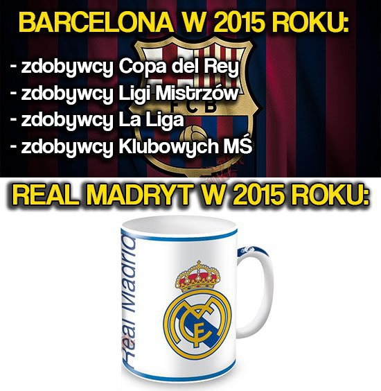 Real vs. Barcelona w tym sezonie